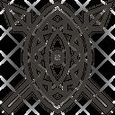 Shield Spears Maasai Icon