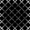 Medieval Round Shield Icon