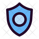 Secure Shield Cryptocurrency Icon