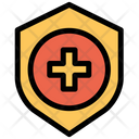Healthcare Medical Shield Icon
