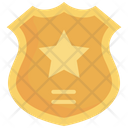 Shield Police Symbol Icon