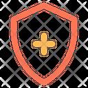 Shield Protect Add Icon