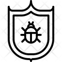 Shield Antivirus Virus Icon