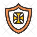 Shield Protection War Equipment Icon