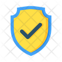 Approved Shield Safety Security Icon