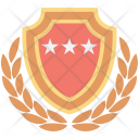 Shield Rating Medal Icon