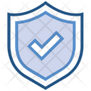 Data Analytics Shield Check Icon