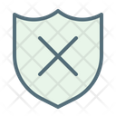 Shield Guarantee Not Safe Icon