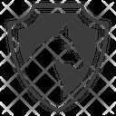 Insignia Horse Equestrian Icon