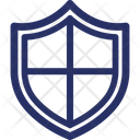 Checkered Defence Defend Icon