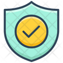 E Commerce Shield Security Icon