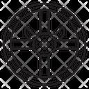 Shield Viking Medieval Icon