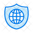 Shield World Icon