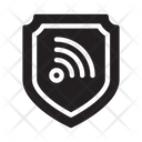 Shield Protection Wifi Icon
