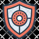Shield Safeguard Aegis Icon
