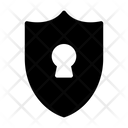Shield Lock Protection Icon