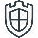 Shield Medieval Protect Icon
