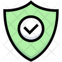 Business Financial Shield Icon
