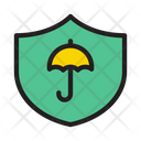 Shield Vpn Umbrella Icon