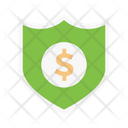 Shield Dollar Security Icon
