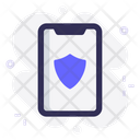 Mobile Shield Protection Icon