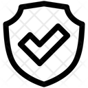 Shield Danger Firewall Icon