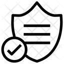 Shield Lock Security Icon