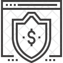 Shield Window Protection Icon