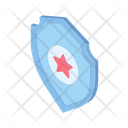 Shield Protection Defence Icon