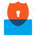 Shield Protection Lock Icon
