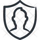 Shield Security Insurance Icon