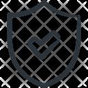 Shield Secure Verify Icon