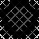 Shield Safe Cyber Icon