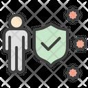 Shield Protection Immune Response Icon