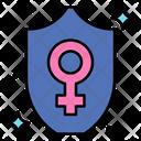 Shield Security Female Icon