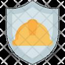 Shield Helmet Labour Icon