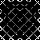 Shield Shield Lock Protective Shield Icon