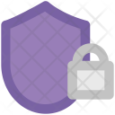 Shield Lock Sign Icon