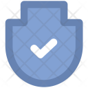 Shield Checkmark Security Icon