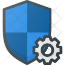 Shield Firewall Settings Icon