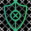 Shield Denied Antivirus Icon