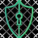 Shield Lock Antivirus Icon