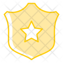 Shield Law Badge Icon