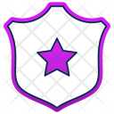 Shield Law Police Icon