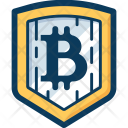 Shield Blockchain Cryptocurrency Icon