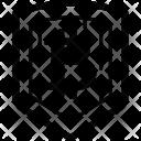 Shield Cryptocurrency Blockchain Icon