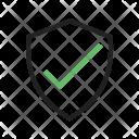 Shield User Verify Icon