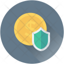 Shield Dollar Business Icon