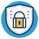 Shield With Lock Icon