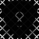 Shield Key Hole Icon